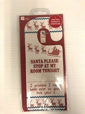 Personalised Christmas Door Hanger- BNWT • 2.99£