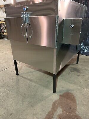 """$8699 • Buy Semo Smokers LLC 48""""x48"""" Insulated Rotisserie Smoker!! Ask About NSF Model"""