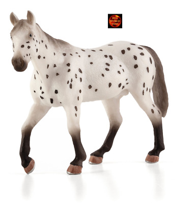 Appaloosa Stallion Horse Toy Model Figure By Mojo Animal Planet 387108 New • 9.99£