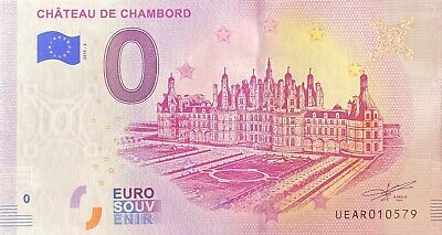 Ticket 0 Euro Castle Chambord France 2019 Number Various • 4.40£