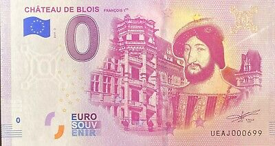 Ticket 0 Euro Castle Of Blois France 2019 Number Various • 4.40£
