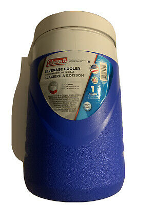 $19.99 • Buy Coleman 1 Gallon Jug Cooler Water Ice Chest Faucet Drink Thermos Insulated