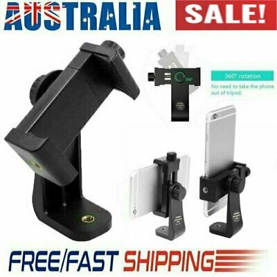 AU9.78 • Buy Smartphone Tripod Adapter Cell Phone Holder Mount For IPhone Camera Universal AT