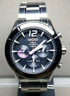$ CDN495.05 • Buy Seiko Criteria Chronograph Solar Men's Watch SSC167P1