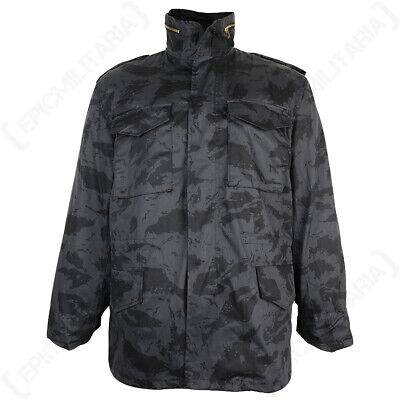 $97.95 • Buy US M65 Style Field Jacket With Liner - Russian Night Camo - All Sizes