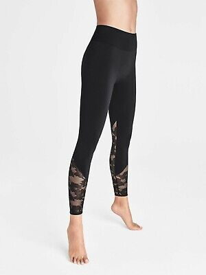 Wolford Perfect Fit Lace Leggings (14813) Black/Black • 150£