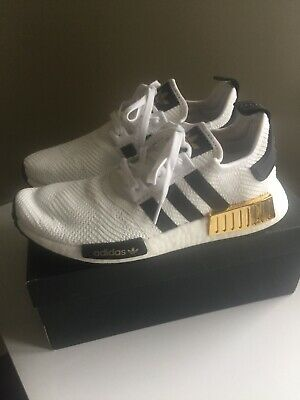 AU120 • Buy Adidas NMD Men's Shoes White / Gold