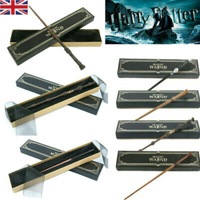 New Harry Potter Magic Wand Hermione Dumbledore Cosplay Magical Wands Ribbon Box • 10.99£