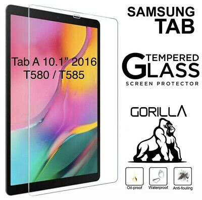 £4.49 • Buy Tempered Glass Screen Protector For Samsung Galaxy Tab A 10.1 2016 SM T580 T585