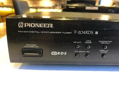 Pioneer F-204RDS Radio Tuner With Aerials And Amp Cables • 15£