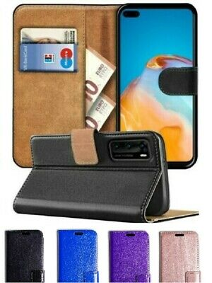 For Huawei P40 P30 P20 Y9 Y7 Mate 20 P Smart Phone Leather Wallet Book Flip Case • 2.95£