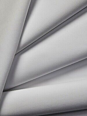 £2.59 • Buy White Poly Cotton Crease Resistant Curtain Lining Fabric Material