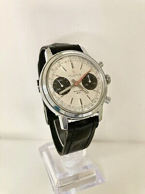$ CDN979.99 • Buy HELBROS Vintage Panda Dial Manua Wind  Valijoux 23 Movement