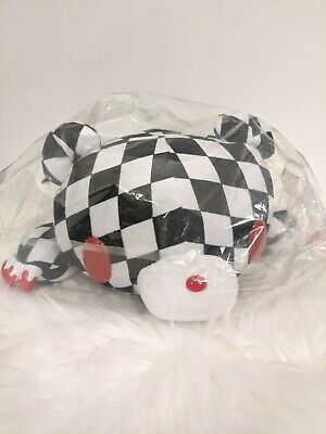 UK SELLER Chax GP Gloomy Bear Black Harlequin BIG Plush 45cm Japan With Tags NEW • 38£