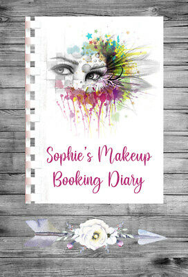 £9.75 • Buy Personalised A4 Appointment Book/Diary - Beauty - Makeup - BP2