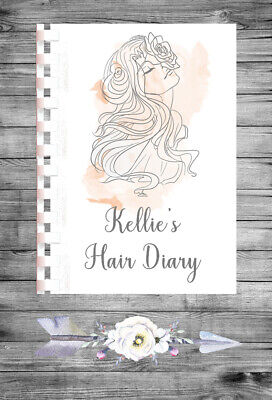 £9.75 • Buy Personalised A4 Appointment Book/Diary - Beauty - Hair - BP4