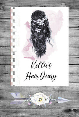 £9.75 • Buy Personalised A4 Appointment Book/Diary - Beauty - Hair - BP5