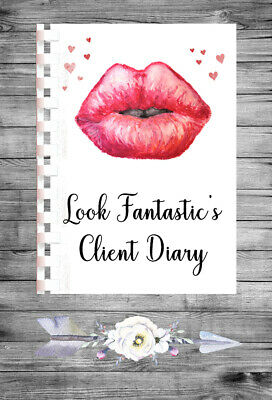 £9.75 • Buy Personalised A4 Appointment Book/Diary - Beauty - Aesthetics - Makeup - BP8