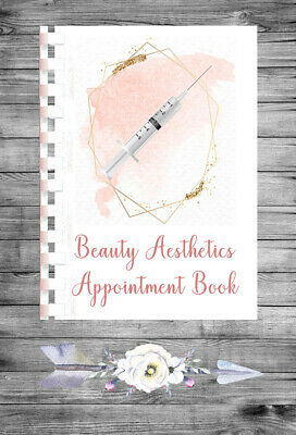 £9.75 • Buy Personalised A4 Appointment Book/Diary - Beauty - Aesthetics - BP11