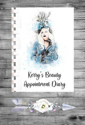 £9.75 • Buy Personalised A4 Appointment Book/Diary - Beauty - Makeup - BP14