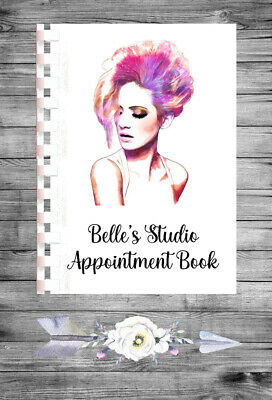 £9.75 • Buy Personalised A4 Appointment Book/Diary - Beauty - Makeup - Hair - BP16
