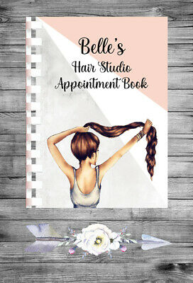 £9.75 • Buy Personalised A4 Appointment Book/Diary - Beauty - Hair - Stylist - BP17