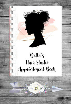 £9.75 • Buy Personalised A4 Appointment Book/Diary - Beauty - Makeup - Hair - BP19