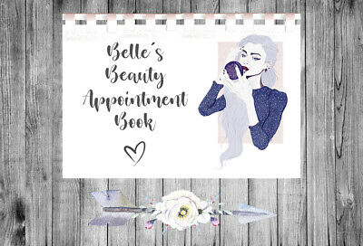 £9.75 • Buy Personalised A4 Appointment Book/Diary - Beauty - Makeup - Hair - BP20