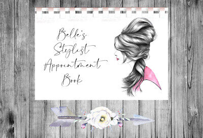 £9.75 • Buy Personalised A4 Appointment Book/Diary - Beauty - Makeup - Hair - BP23