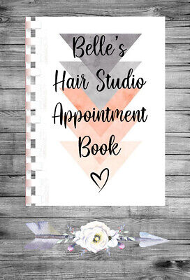 £9.75 • Buy Personalised A4 Appointment Book/Diary - Beauty - Makeup - Hair - BP27
