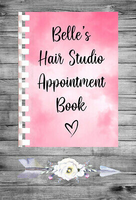 £9.75 • Buy Personalised A4 Appointment Book/Diary - Beauty - Makeup - Hair - BP28