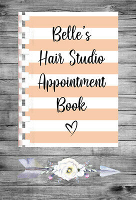 £9.75 • Buy Personalised A4 Appointment Book/Diary - Beauty - Makeup - Stylist - BP25