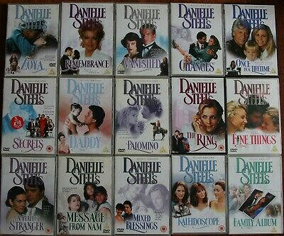 DANIELLE STEEL Dvd  MEGA Collection - 15 DVDS Remastered   Job Lot BUNDLE Joblot • 50£