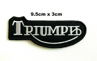 Triumph Patch Motorcycle Dayton Iron On Sew On Embroidered Badge Patch • 1.99£