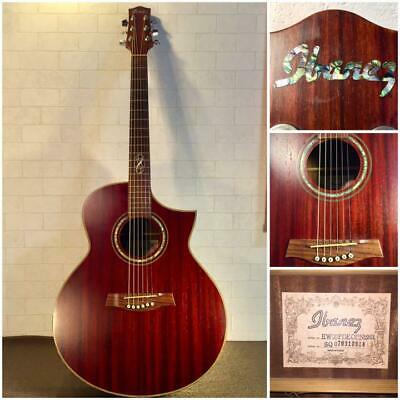 $683.57 • Buy Ibanez EW30PDE Acoustic Electric Guitar Good Product To Use In Japan