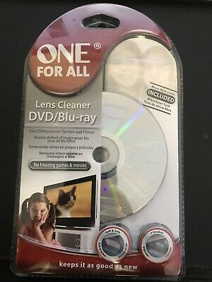 £9.99 • Buy One For All Laser Lens Cleaner For DVD, Blue Ray , X-Box , PS3, PS4, Car  Etc