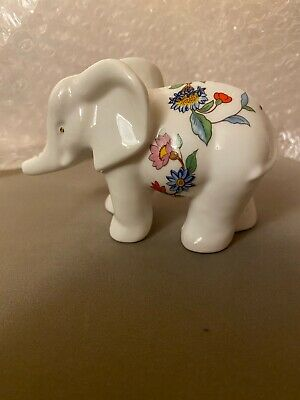 Aynsley Pembroke Mini Animals The Elephant, Fine Bone China Excellent Condition • 15£