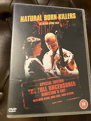 Natural Born Killers (DVD, 2003, Director's Cut) • 1.79£