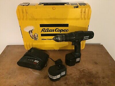 Atlas Copco PEP 12 T - Drill, 2x12V Batteries, Charger And Case • 30£