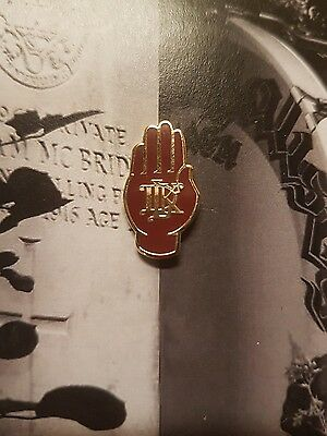 Red Hand Of Ulster Loyalist Flute Band Pin Badge No Surrender Orange Order 1690 • 4.50£