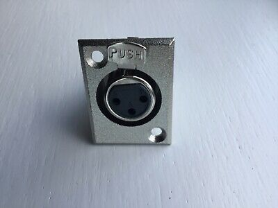 XLR 3 Pin Chassis Female Socket Connector PRO-Signal • 3.75£