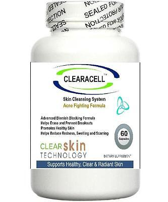 £34.95 • Buy Clearacell Acne Pills Clear Complexion Skin Blemishes Scars  No1 Spots Treatment
