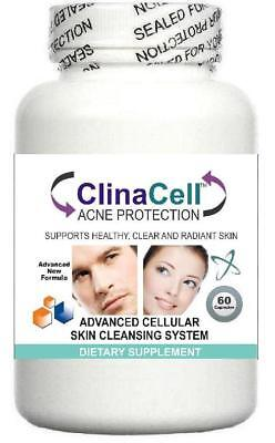 £19.95 • Buy Acne Pills For Clear Skin Blemishes Blackheads Spots Pores Treatment Pimples 60s