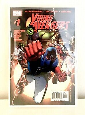 Young Avengers #1 1st Appearance Of Young Avengers Inc Kate Bishop Etc Key Issue • 56£