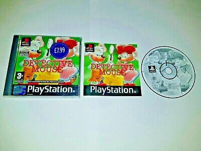 Detective Mouse - Playstation 1 PS1 Game VERY RARE EXCELLENT DISC • 97.50£