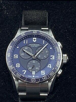 £359.85 • Buy Swiss Army 241652 Men's Chrono Classic XLS Blue Dial Stainless Steel Watch