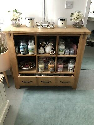 Next Oak Display Cabinet • 75£
