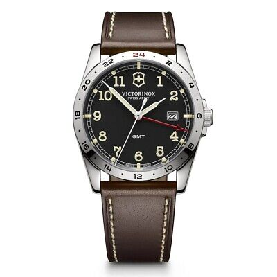 Victorinox Swiss Army GMT Infantry Watch 241648 Collectors Rare • 299£
