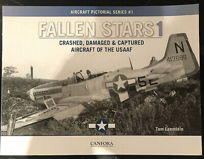 £14 • Buy Fallen Stars 1: Crashed, Damaged & Captured Aircraft Of The ... By Laemlein, Tom