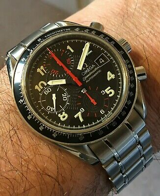 Omega Speedmaster Reduced Mark 40 Ref 3513.53.00 Automatic Chronograph Watch • 1,595£